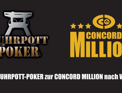 Mit Ruhrpott Poker zur Concord Million nach Wien – 1.000.000€ Preispool warten auf dich!
